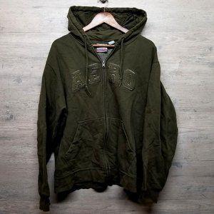 Vintage Aeropostale Zip Up Hoodie Sweatshirt. Soft